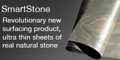 SmartStone Irland SmartStone: Revolutionary new surfacing product, ultra thin sheets of real natural stone